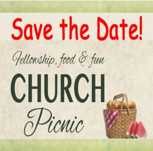 Church Picnic and Games